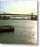 Three Bridges Metal Print