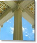 Three Columns Metal Print