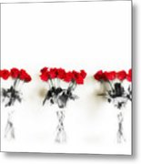 Three Dozen Roses Metal Print