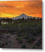 Mount Jefferson At Sunset Metal Print
