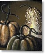Three Gourds Metal Print