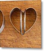 Three Heart Cutters Metal Print