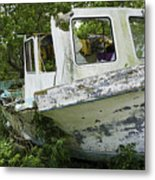 Three Hour Tour - In Color Metal Print
