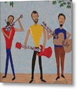 Three Musicians Metal Print