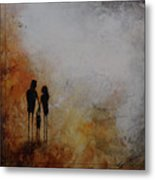 Three Of Us  Metal Print