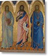 Three Saints Metal Print