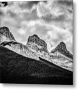 Three Sisters Alberta Metal Print