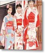 Three sisters Metal Print