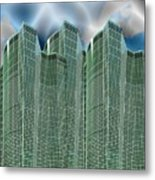 Three Towers 1 Metal Print