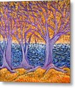 Three Trees Metal Print