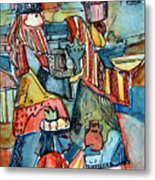 Three Wise Men Metal Print