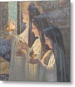 Three Wise Virgins Metal Print
