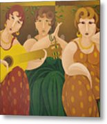 Three Women 2005 Metal Print
