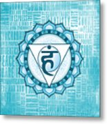 Throat Chakra - Awareness Metal Print