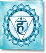 Throat Chakra Metal Print by David Weingaertner