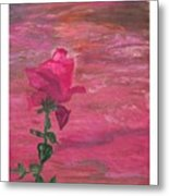 Through Rose Colored Glasses Metal Print