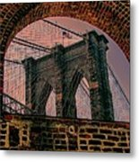 Through The Arch 2 Metal Print