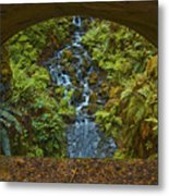 Through The Arch Signed Metal Print