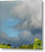 Through The Clouds Metal Print