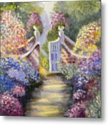 Through The Garden Gate Metal Print