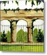 Through The Gates Metal Print