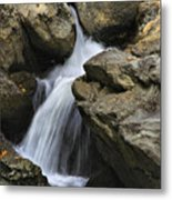 Through The Rocks Metal Print