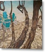 Through The Trees, St John Metal Print