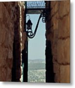 The Messiah's Alley Metal Print
