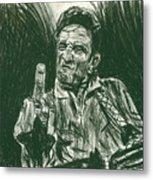 Thumbs Up Metal Print