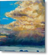 Thundeclouds Metal Print
