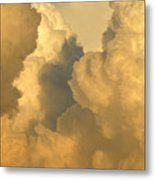 Thunder Heads Metal Print