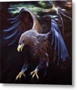 Thunder Metal Print by Julie Bond