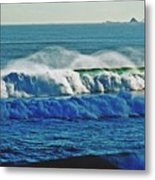Thunder Of The Waves Metal Print