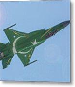 Thunder Over Arabian Sea Metal Print