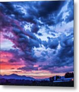 Thunder Storm Metal Print