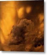 Thunder Storm Sunset #8324 Metal Print