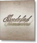 Thunderbird Badge Metal Print