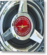 Thunderbird Rim Emblem Metal Print