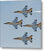 Thunderbirds 1-4 Turning 2627 Metal Print