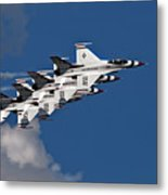 Thunderbirds Echelon Metal Print
