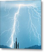 Thunderbolts From Heaven Metal Print