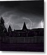 Thunderhead Metal Print by Darryl Gallegos