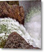 Thundering Waters Metal Print