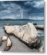 Thunderstorm  Metal Print by Evgeni Dinev