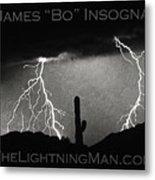 Thunderstorm Poster Print Metal Print