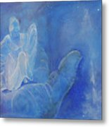 Thy Right Hand Upholdeth Me Metal Print
