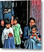 Tibetan Refugees Metal Print