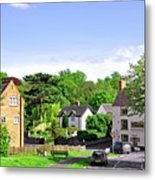 Ticknall Village From Ingleby Lane Metal Print