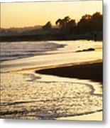 Tidal Sunset Metal Print