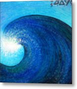 Tidal Wave. Power And Beauty Metal Print